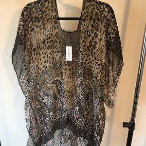 Dress barn Sheer cardigan